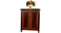 luxury new classical style wood carving shoe cabinet, shoe rack