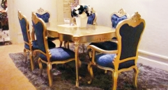 European style dining room set