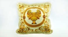 20''/ 27'' Imperial Top Quality Sofa Cushion Luxury Trophy and Medusa Decorative Soft Pillow