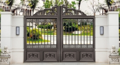 high quality outside gate, security aluminum door